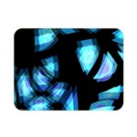 Blue light Double Sided Flano Blanket (Mini)  35 x27 Blanket Back