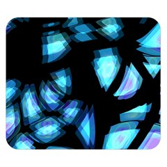 Blue Light Double Sided Flano Blanket (small)