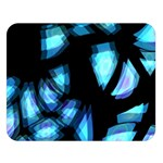 Blue light Double Sided Flano Blanket (Large)  80 x60 Blanket Front