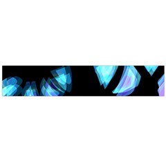 Blue light Flano Scarf (Large)