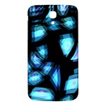 Blue light Samsung Galaxy Mega I9200 Hardshell Back Case Front