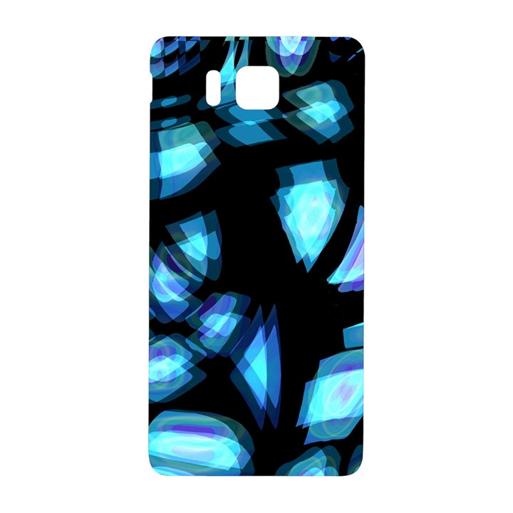 Blue light Samsung Galaxy Alpha Hardshell Back Case