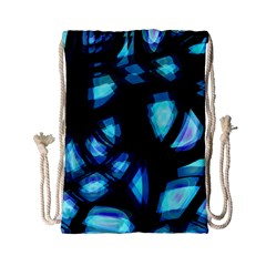 Blue Light Drawstring Bag (small)