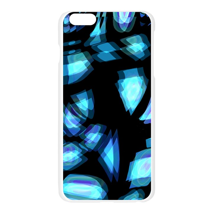 Blue light Apple Seamless iPhone 6 Plus/6S Plus Case (Transparent)