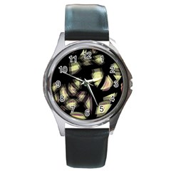 Follow the light Round Metal Watch