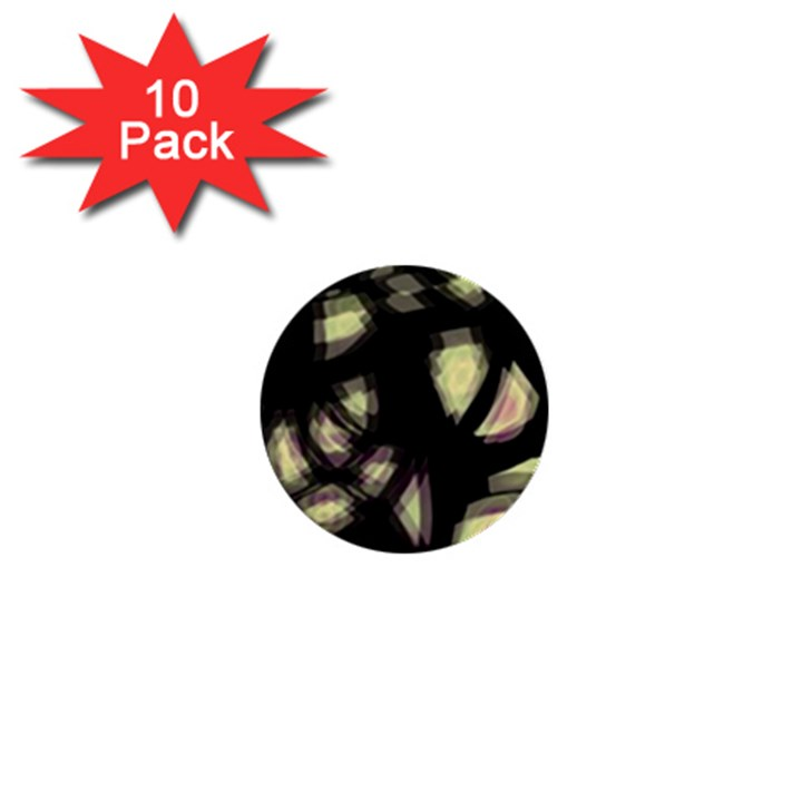 Follow the light 1  Mini Buttons (10 pack)
