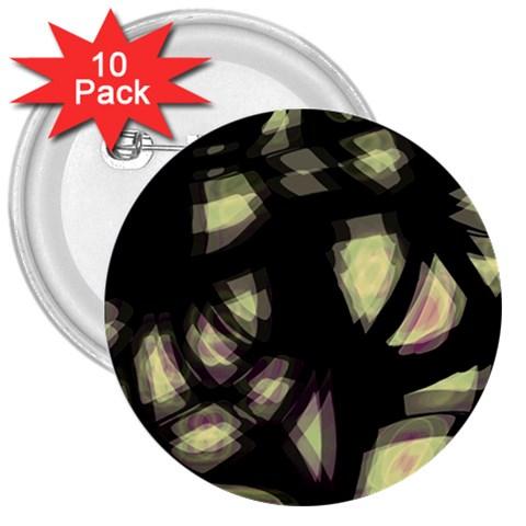 Follow the light 3  Buttons (10 pack)