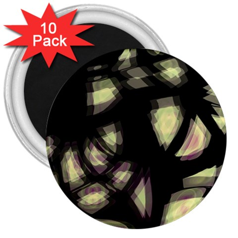 Follow the light 3  Magnets (10 pack)