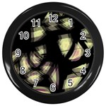 Follow the light Wall Clocks (Black) Front
