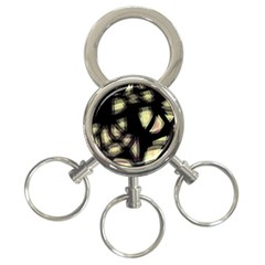 Follow the light 3-Ring Key Chains