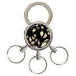 Follow the light 3-Ring Key Chains Front