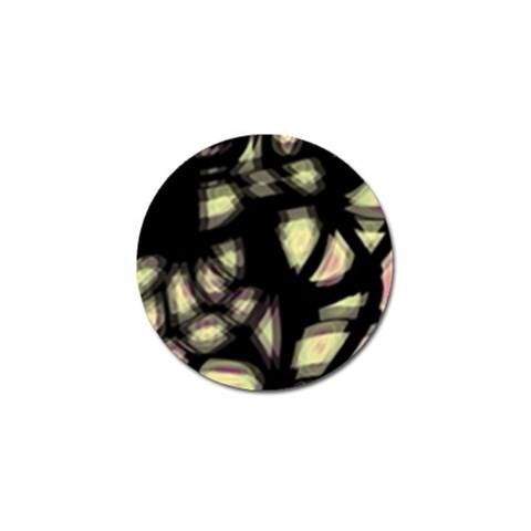 Follow the light Golf Ball Marker (4 pack)