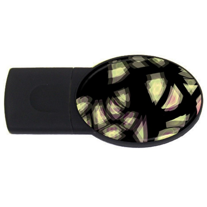 Follow the light USB Flash Drive Oval (1 GB)