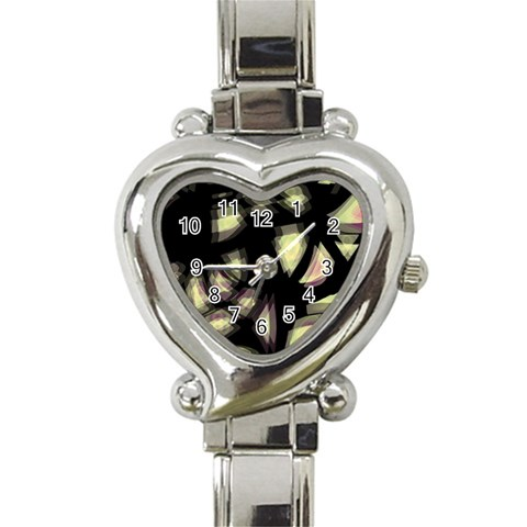 Follow the light Heart Italian Charm Watch