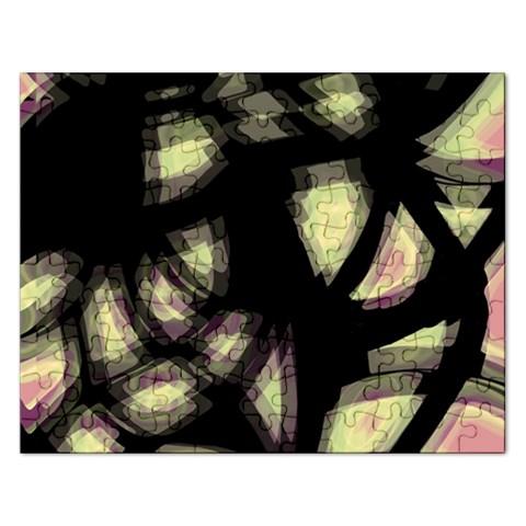 Follow the light Rectangular Jigsaw Puzzl