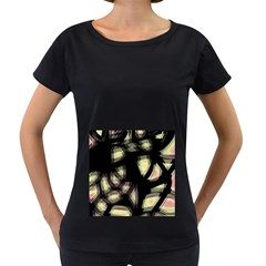 Follow the light Women s Loose-Fit T-Shirt (Black)