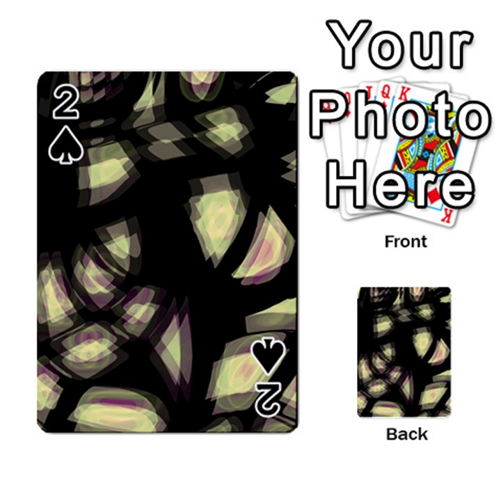 Follow the light Playing Cards 54 Designs