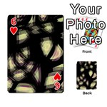 Follow the light Playing Cards 54 Designs  Front - Heart6