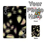 Follow the light Playing Cards 54 Designs  Front - Spade5