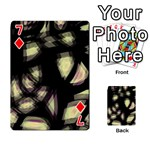 Follow the light Playing Cards 54 Designs  Front - Diamond7