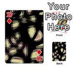 Follow the light Playing Cards 54 Designs  Front - Diamond10