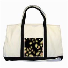 Follow the light Two Tone Tote Bag