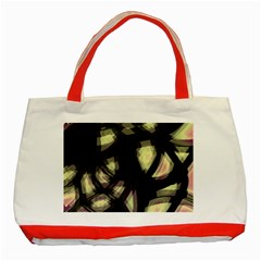 Follow the light Classic Tote Bag (Red)