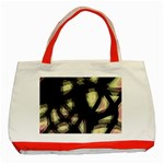 Follow the light Classic Tote Bag (Red) Front
