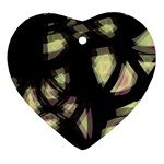 Follow the light Heart Ornament (2 Sides) Front