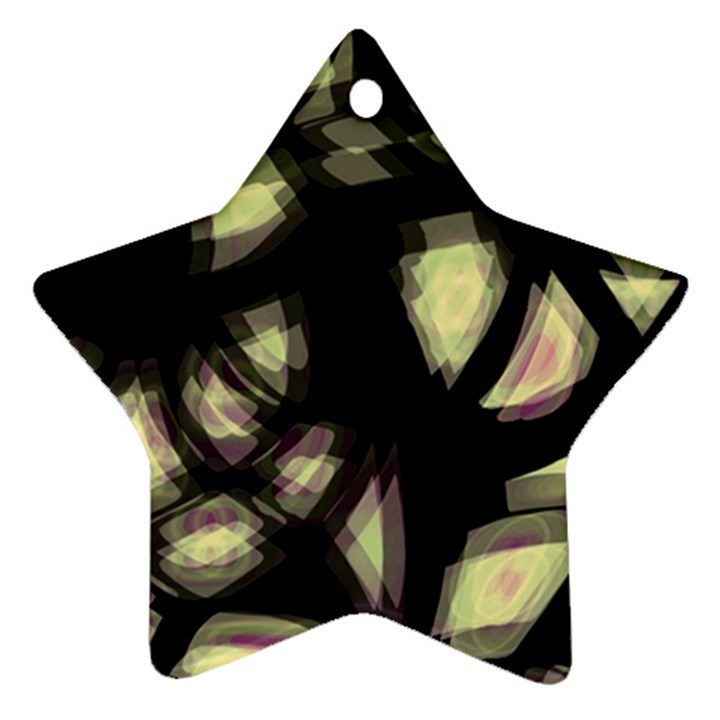 Follow the light Star Ornament (Two Sides)