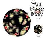 Follow the light Playing Cards 54 (Round)  Front - Heart7