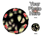 Follow the light Playing Cards 54 (Round)  Front - Heart10
