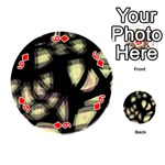Follow the light Playing Cards 54 (Round)  Front - Diamond6