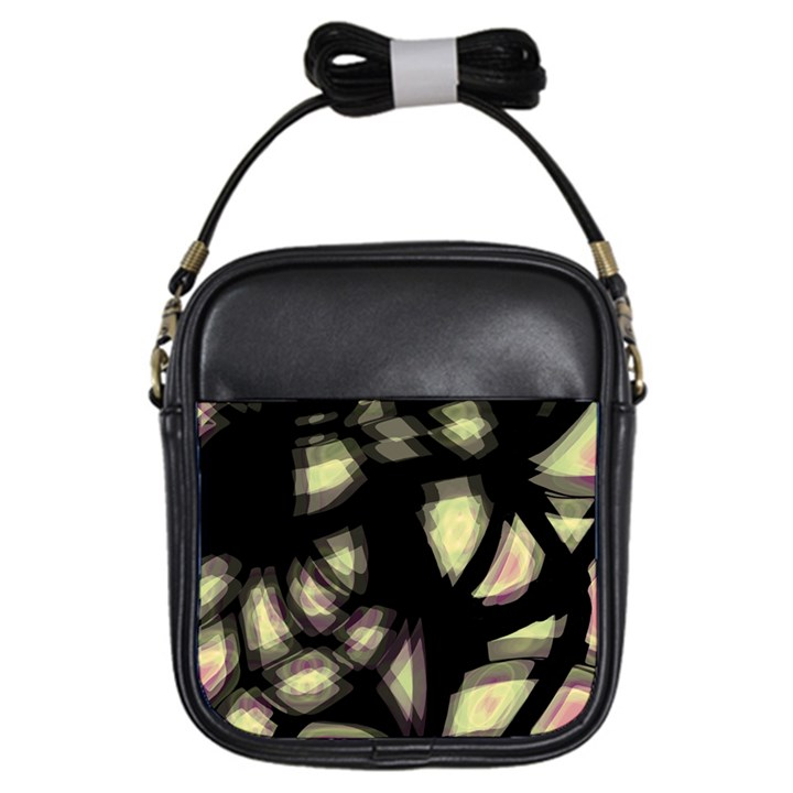 Follow the light Girls Sling Bags