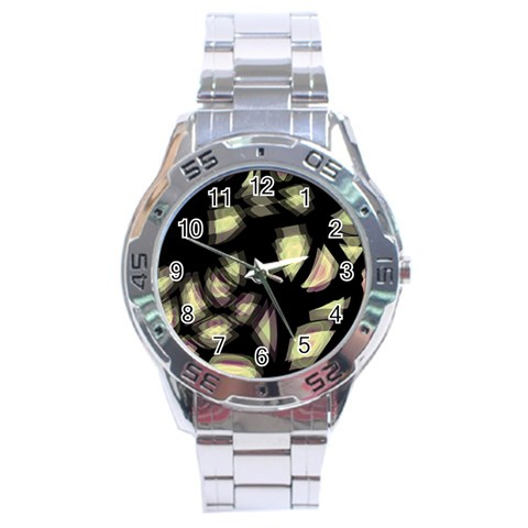 Follow the light Stainless Steel Analogue Watch