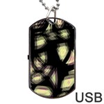 Follow the light Dog Tag USB Flash (One Side) Front
