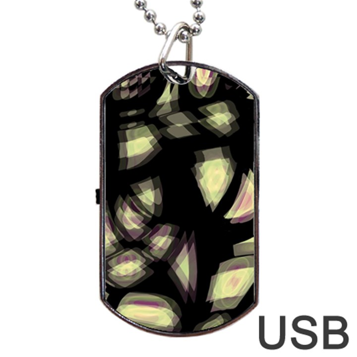 Follow the light Dog Tag USB Flash (Two Sides)