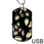 Follow the light Dog Tag USB Flash (Two Sides)  Back