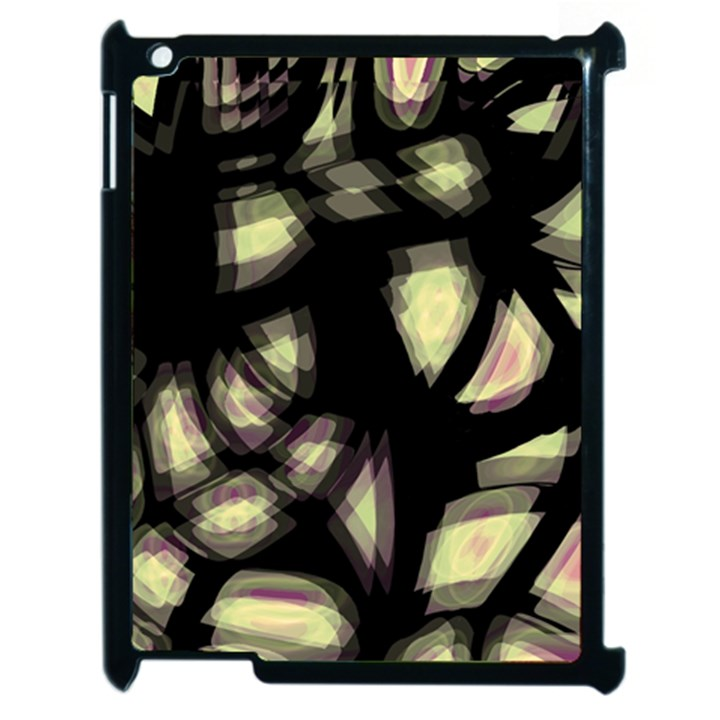 Follow the light Apple iPad 2 Case (Black)
