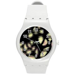 Follow the light Round Plastic Sport Watch (M)