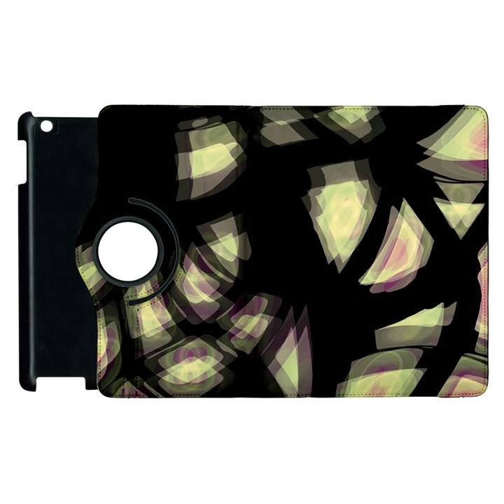 Follow the light Apple iPad 3/4 Flip 360 Case