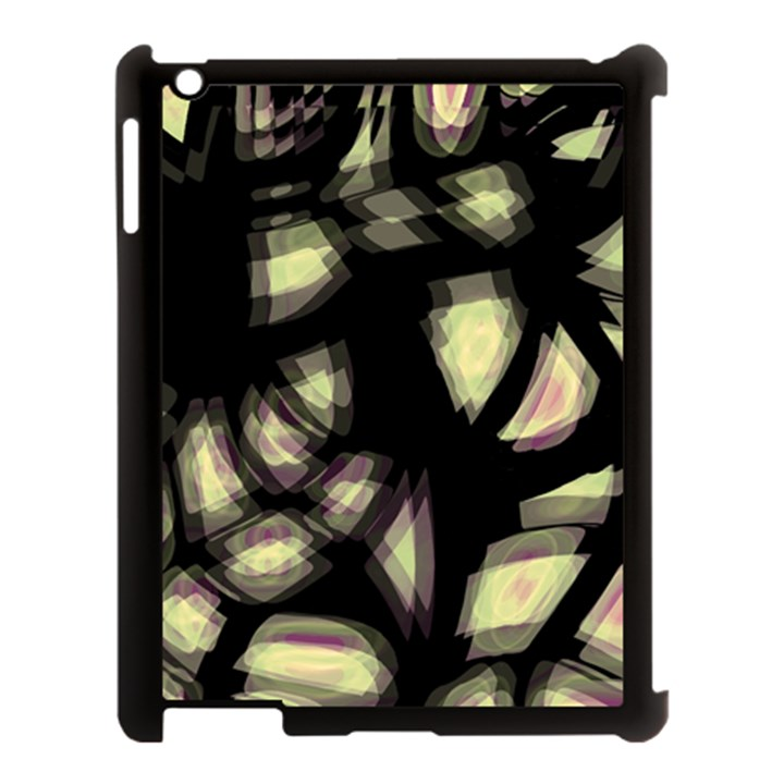Follow the light Apple iPad 3/4 Case (Black)