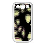 Follow the light Samsung Galaxy S3 Back Case (White) Front