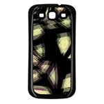 Follow the light Samsung Galaxy S3 Back Case (Black) Front
