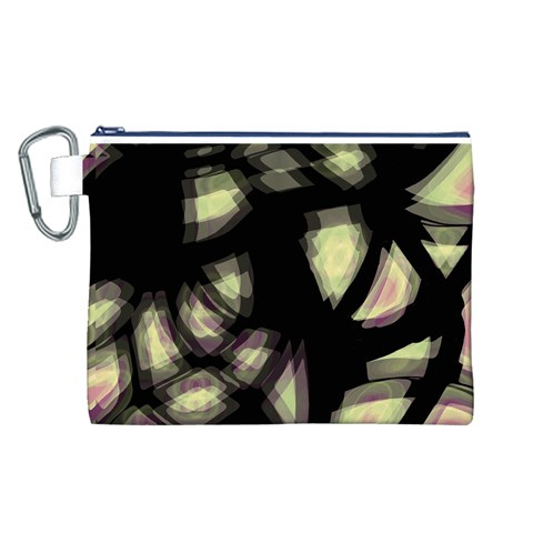 Follow the light Canvas Cosmetic Bag (L)