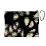 Follow the light Canvas Cosmetic Bag (XL) Back