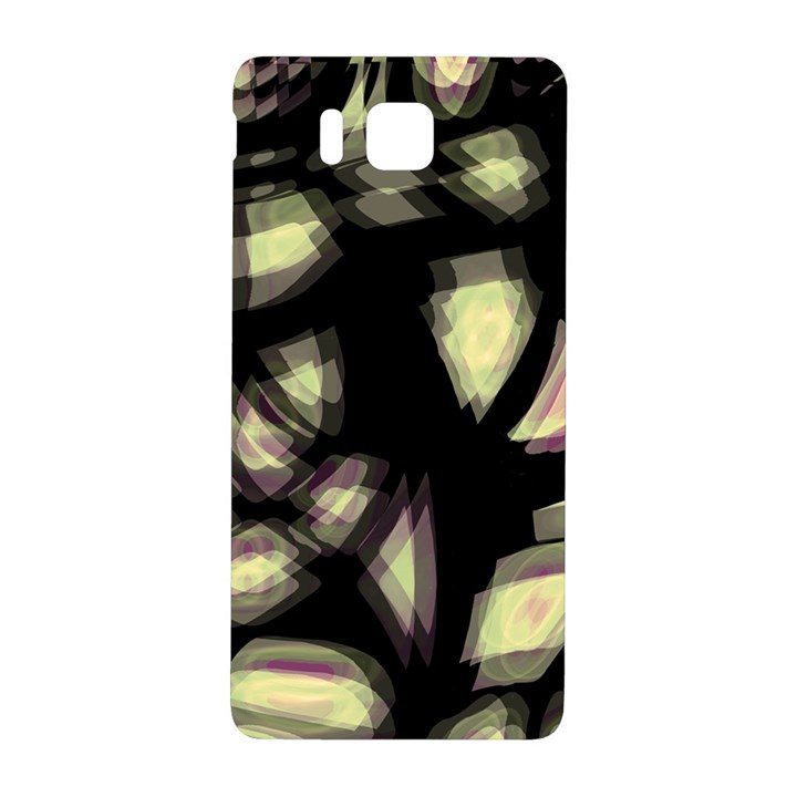 Follow the light Samsung Galaxy Alpha Hardshell Back Case