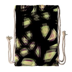 Follow the light Drawstring Bag (Large)