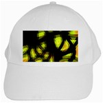 Yellow light White Cap Front