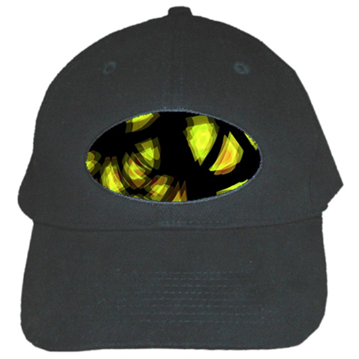 Yellow light Black Cap